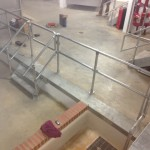bespoke metal handrails in Marble Arch