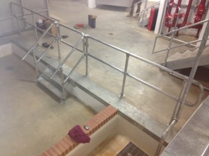 bespoke metal handrails in Marble Arch