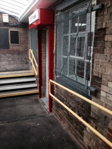 metal handrails and grilles Stansted Mountfitchet Station