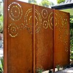corten steel fretwork