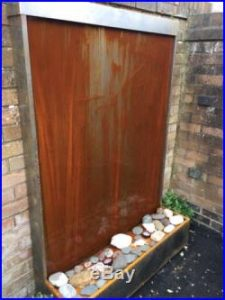 corten steel weathered look